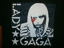 LADY GAGA LOVE GAME T SHIRT Fame Just Dance Paparazzi Little Monsters 2009 Pop