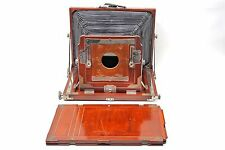 "Vageeswari 8.5""x15"" Wood Ultra Large Format Panoramic Plate Camera+Holder++GREAT"
