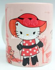 Hello kitty momoberry style Parisian I love pink mug 11 oz cup original design
