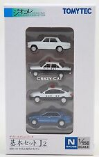 TOMYTEC 1/150 N Scale Diorama collection Car Set J2 (4 Car)