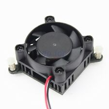 Aluminium Heatsink Fin Cooler w/ 3P 40mm Fan For PC Northbridge Chipset Cooling