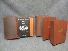 ASI 1962 Advance Trade Schools Mobile Engines Repair Lessons Set In Binders 71pc