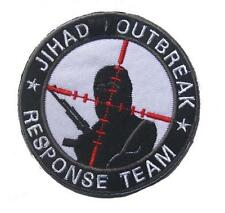 JIHAD OUTBREAK RESPONSE TEAM INFIDEL U.S. ARMY MORALE BADGE 3D MILITRAY PATCH #1