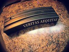 VERITAS AEQUITAS  Sticker magazine decal pack of 5 vinyl decals. ar15 1911 5.56