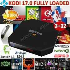 XGODY 3GB+32GB KODI 17.0 Fully Loaded 4K Android 6.0 Octa Core Smart TV BOX DDR4