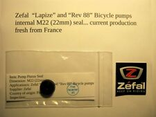 "Zefal ""Lapize"" / ""REV 88"" bicycle pump  22mm Zefal internal Rubber Piston Seal"