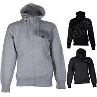 New Mens LMF Fleece hoody Hooded Hoodie ZIP Zipper Top Jacket Size S M L XL XXL