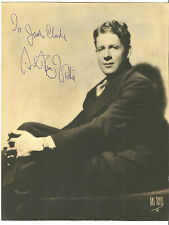 Rudy Vallee  Autograph ~ Signed & Inscribed 1920's Photograph