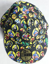 59 fifty new era MARVEL HEROES baseball cap  size 7 1/4  57.7cm fitted hat wear
