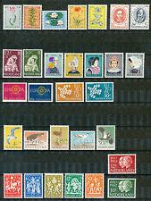 Nederland jaargangen 1960 - 1965 ongebruikt (zonder blok)  goedkoop!
