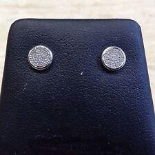 9ct Diamond Cluster Earrings.