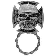 Mean Skull Armee Militär Totenkopf Iron Cross Pin Halter Anstecker Brillenhalter