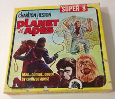 Vintage 8mm Film Super 8 Movie Planet of the Apes Black and White Silent PL-1