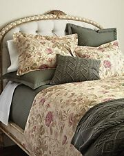 RALPH LAUREN WILTON ROSE FLORAL ARCHIVAL COLLECTION ROSE / SAGE KING COMFORTER