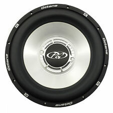 "Phoenix Gold Octane R12d 12"" Car Subwoofer Blue LED Carbon Fiber Voice Coil R12d"