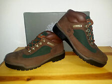 $150 NEW Mens 9 WIDE Timberland Icon Field Boot WP Brown Green
