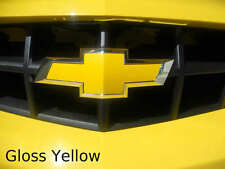 "2- 5""x10"" Gloss Yellow vehicle graphic film sheets. Universal Vinyl Bowtie Wraps"