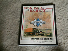 STANDARD of the HIGHWAY Book-International Truck Ads-IH-Tim Putt-Fathers Day
