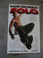SOLO 1996 Mario Van Peebles William Sadler Android 11x17 MINI Movie Poster EX C8