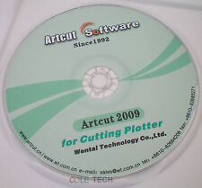 ARTCUT 2009 Pro Software for Sign Vinyl plotter cutting 9 language