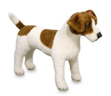 Jack Russell Dog Plush Soft Toy - Life Size & Lifelike - New - Childs