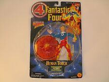 """Biz Toys 1996 Fantastic Four Marvel """"The Human Torch"""" Action Figure **NEW**"""