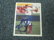 R.A. Dickey Autographed Trading Baseball Card