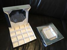 50 X Pick And Mix Sweet Chocolate Tray Box Silver Christmas Gift Boxes