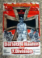 ROD TAYLOR * Letzte Haufen der 7. Division *A1-FILMPOSTER -HELL RIVER -PARTIZANI