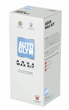 AUTOGLYM AQUA WAX KIT 500ML & 2 X MICROFIBRE CLOTHS