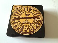 SUN RECORDS THE ESSENTIAL COLLECTION - 3 CDS IN METAL TIN MINT CONDITION