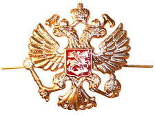 Soviet USSR Russian Army Imperial Eagle Military Hat Metal Pin Badge/5cmx5cm