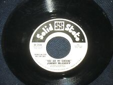 """Jimmy McGriff """"You Are My SunshineThe Days of Wine and Roses"""" 45 PROMO"""