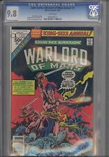 John Carter, Warlord of Mars Annual #1  CGC 9.8 1977 Marvel Comic: Dejah Thoris
