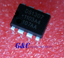 10PCS IC DS1307 DS1307N DIP8 RTC SERIAL 512K I2C Real-Time Clock NEW