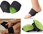X EUS 2pcs Elastic Soft Cushioned Arch Supports Relief for Achy Feet Foot Health
