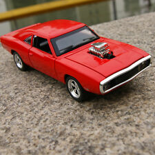 1:32 Dodge Diecast Toys Model Alloy Collection Toy F Kids Gift Toy W/Light Red