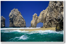 Cabo San Lucas - Beach Paradise Vacation Travel Photo - NEW POSTER