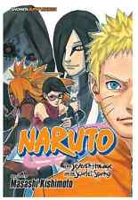 Naruto The Seventh Hokage and the Scarlet Spring, Hot New Manga USA English