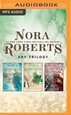 Nora Roberts KEY TRILOGY Complete UNABRIDGED MP3-CD 33 Hr *NEW* FAST 1st Cl Ship