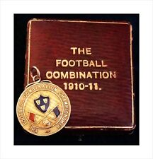 9ct Gold Medal. Football Combination Champions 1911. Whitchurch FC, Shropshire.