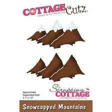 Snowcapped Mountains Die Steel Craft Die Cutting Dies COTTAGE CUTZ CC261 New