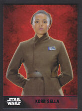 Topps Star Wars - The Force Awakens - Purple Parallel Card # 26 Korr Sella
