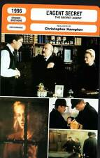 FICHE CINEMA : L'AGENT SECRET - Hoskins,Arquette,Depardieu 1996 The Secret Agent