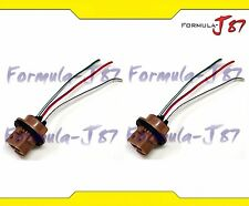Wire Harness Miniature Pigtail Female 7443 T20 Two Cables Light Bulb Fit Lamp
