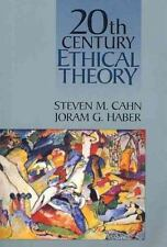 Twentieth Century Ethical Theory by Joram G. Haber and Steven M. Cahn (1994,...