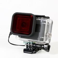 Diving Lens Filter for Waterproof Housing Case Cover of Gopro Hero 5 Camera Red