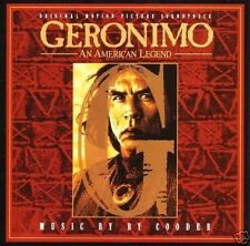 """GERONIMO: AN AMERICAN LEGEND"" SOUNDTRACK by RY COODER/CBS-SONY CD 1993"