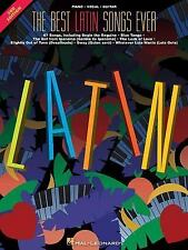 """HAL LEONARD """" LATIN """" - PIANO PIECES - 247 PAGES OF MUSIC W/ VOCAL & GUITAR"""