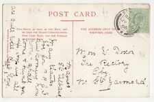 Miss W. Dixon, The Rectory, Oby, nr. Great Yarmouth 1906 Postcard, B332